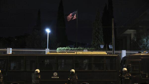 Embajada de EEUU en Atenas, Grecia - Sputnik Mundo