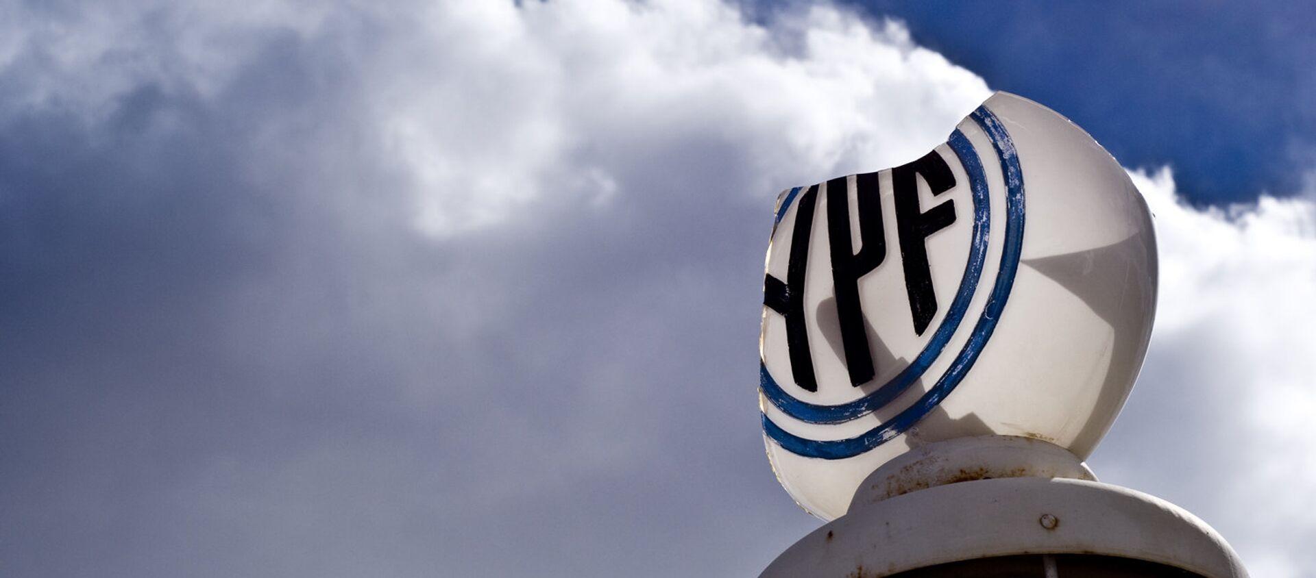 Logo de la petrolera argentina YPF - Sputnik Mundo, 1920, 24.04.2020