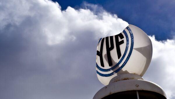 Logo de la petrolera argentina YPF - Sputnik Mundo