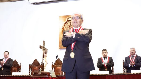 Pedro Chávarry, fiscal de la Nación de Perú - Sputnik Mundo