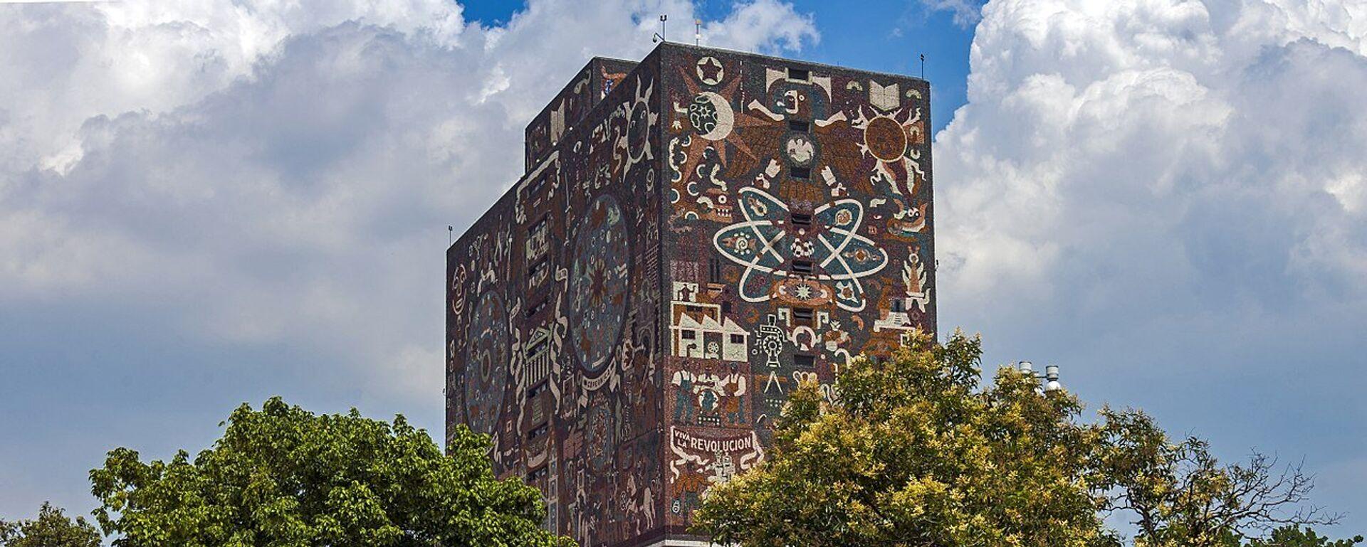 Biblioteca de la UNAM - Sputnik Mundo, 1920, 24.09.2021