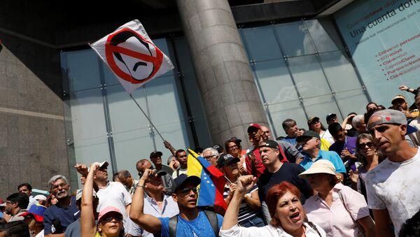 Protestas en Venezuela contra Nicolás Maduro - Sputnik Mundo