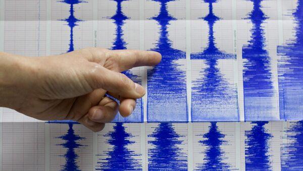 Un sismógrafo - Sputnik Mundo