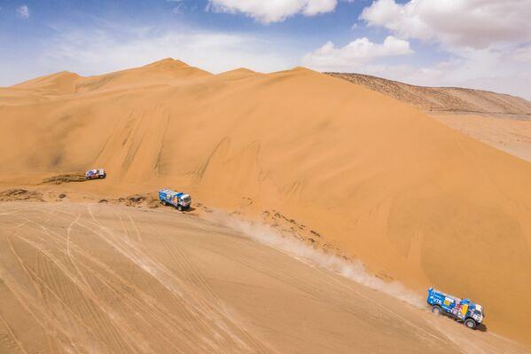 El Rally Dakar llega a Perú - Sputnik Mundo