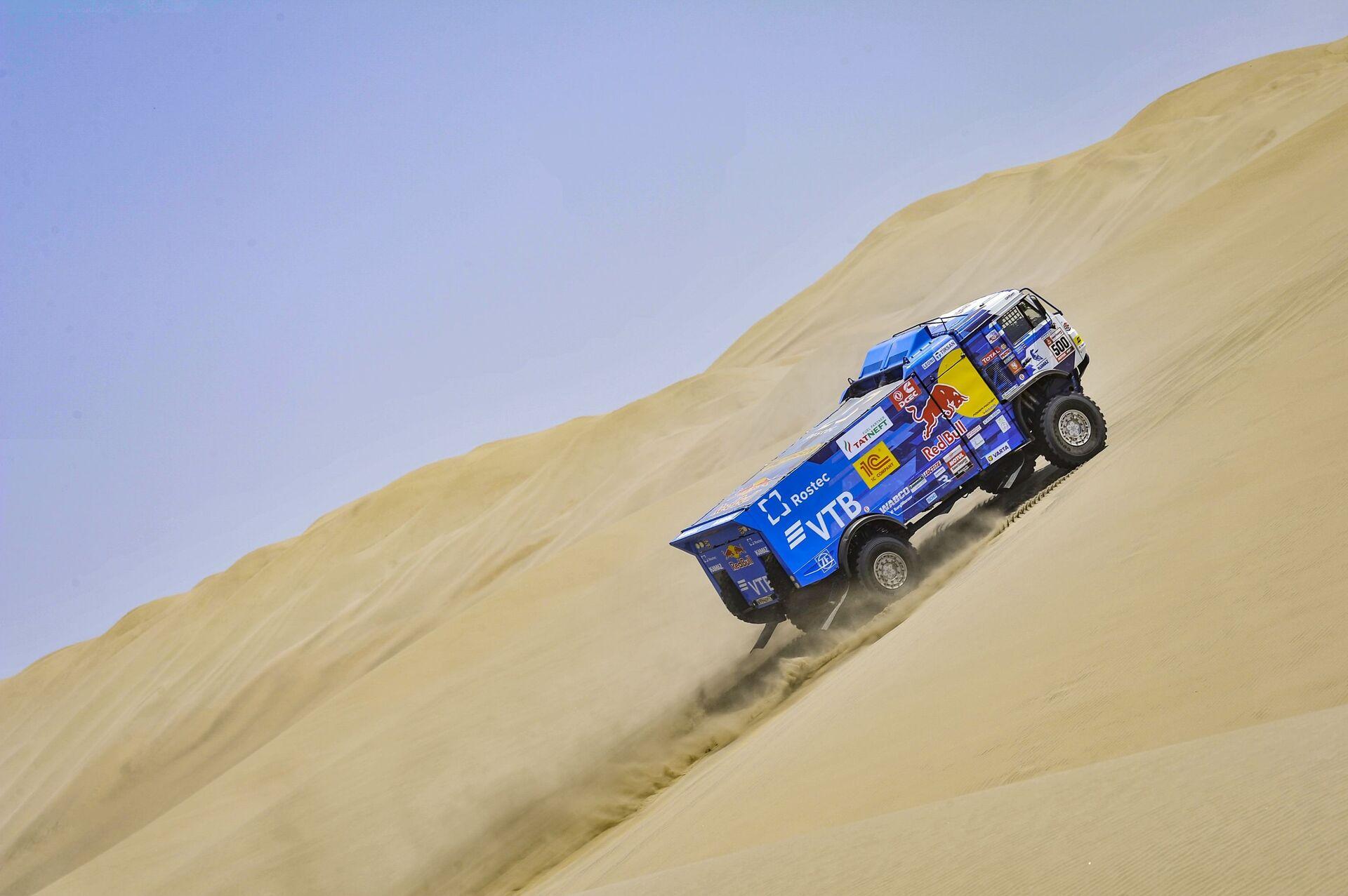 El equipo de Kamaz en el rally Dakar 2019 - Sputnik Mundo, 1920, 18.02.2021