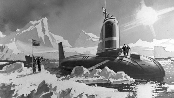 El submarino Leninski Komsomol - Sputnik Mundo