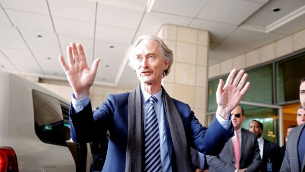 Geir Pedersen, enviado especial para Siria - Sputnik Mundo