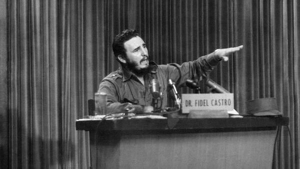 Fidel Castro en 1959 - Sputnik Mundo