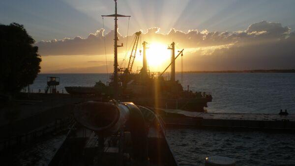 Base naval rusa 954 en Kirguistán - Sputnik Mundo