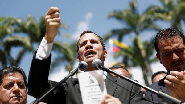 Juan Guaidó, presidente de la Asamblea Nacional de Venezuela - Sputnik Mundo