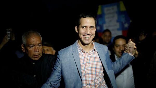 El presidente de la Asamblea Nacional de Venezuela, Juan Guaidó - Sputnik Mundo