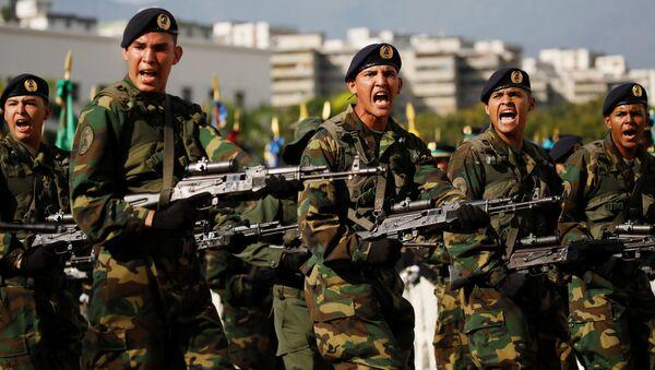 Los soldados venezolanos - Sputnik Mundo