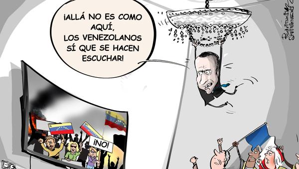 Zajárova a Macron: los 'chalecos amarillos' podrían ponerse celosos por sus palabras sobre Venezuela - Sputnik Mundo