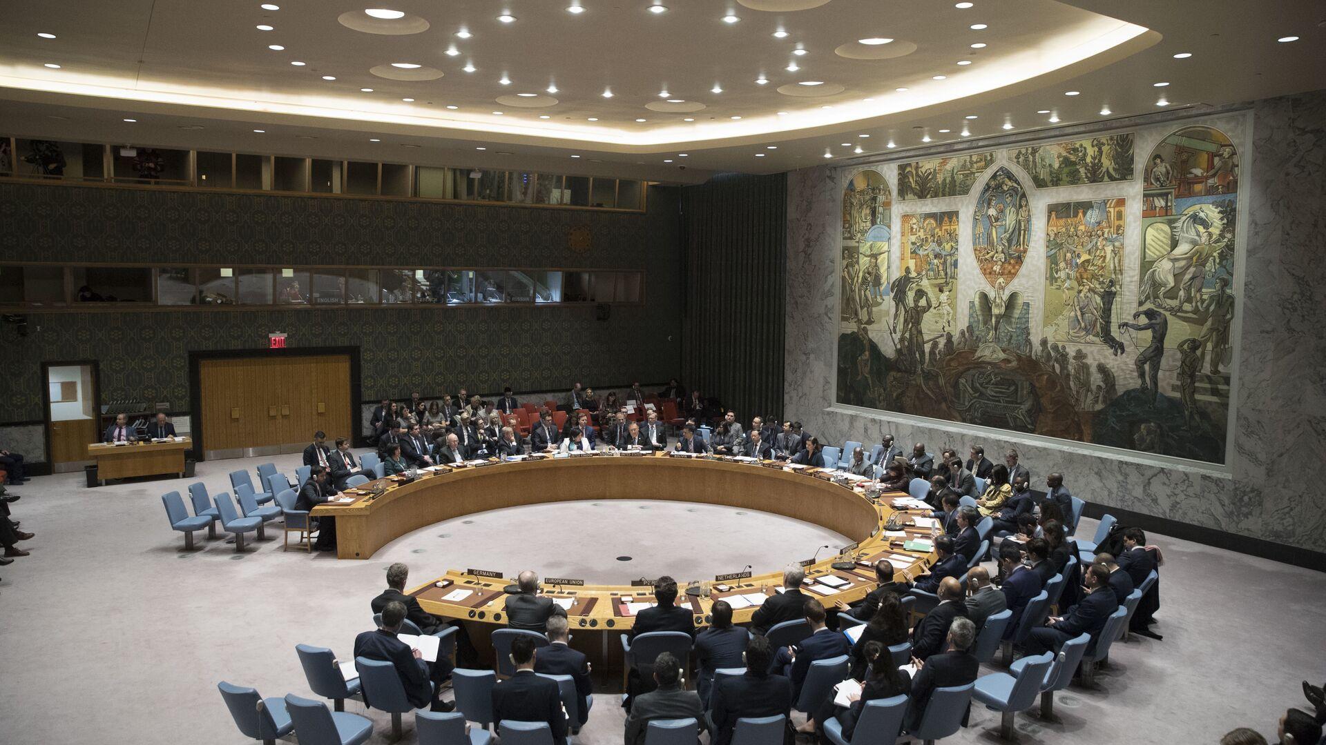 Consejo de Seguridad de la ONU (archivo) - Sputnik Mundo, 1920, 18.02.2021