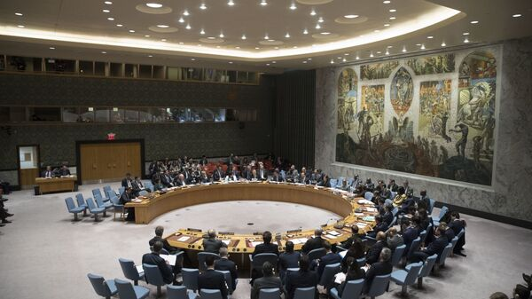 Consejo de Seguridad de la ONU (archivo) - Sputnik Mundo
