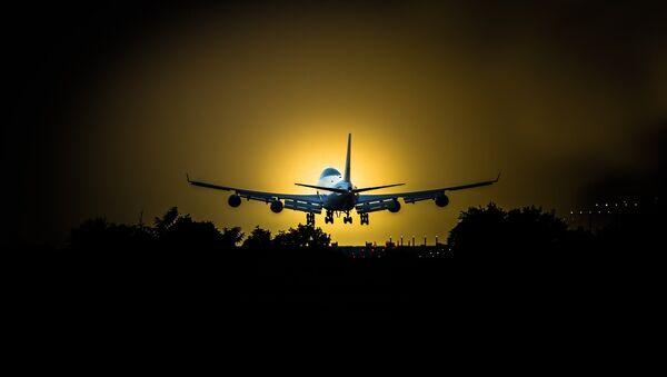 Un avión (imagen referencial) - Sputnik Mundo