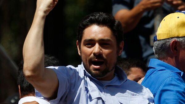 Carlos Vecchio, opositor venezolano - Sputnik Mundo