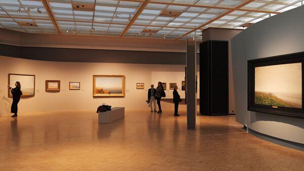 La expoición de Arjip Kuindzhi en la Galería Tretiakov - Sputnik Mundo