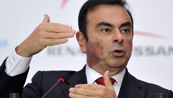 Carlos Ghosn, el expresidente de Nissan Motor - Sputnik Mundo
