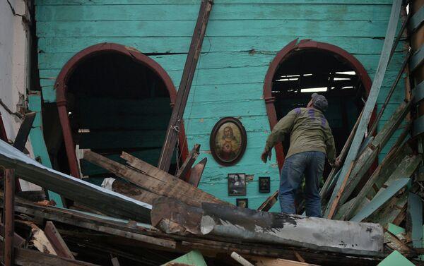Consecuencias del tornado en La Habana, Cuba - Sputnik Mundo