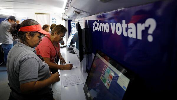 Elecciones en San Salvador - Sputnik Mundo