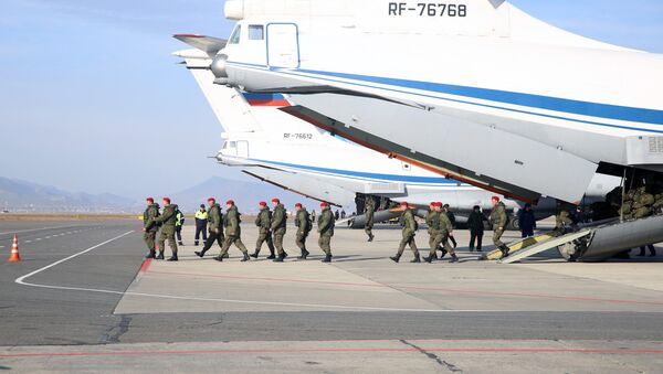 La policía militar rusa - Sputnik Mundo