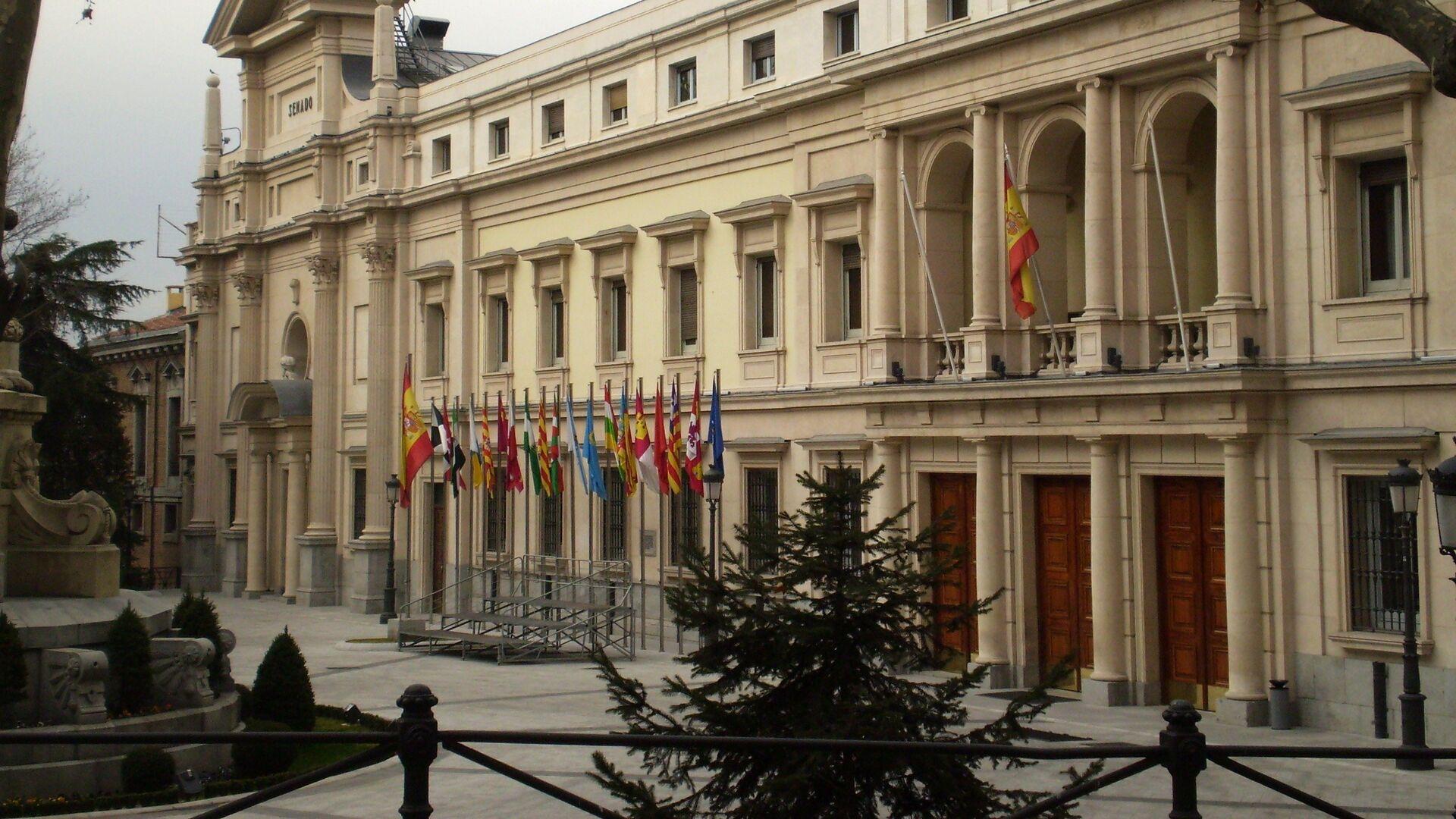 Fachada del Palacio del Senado de España - Sputnik Mundo, 1920, 10.03.2021