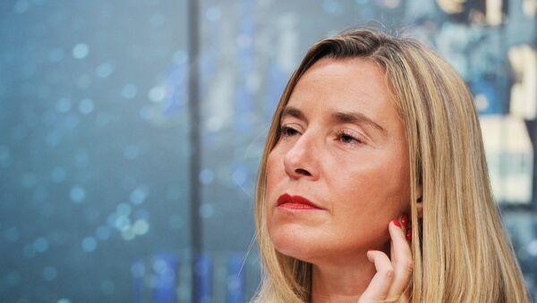 Federica Mogherini, Alta Representante de la Política Exterior de la Unión Europea (archivo) - Sputnik Mundo