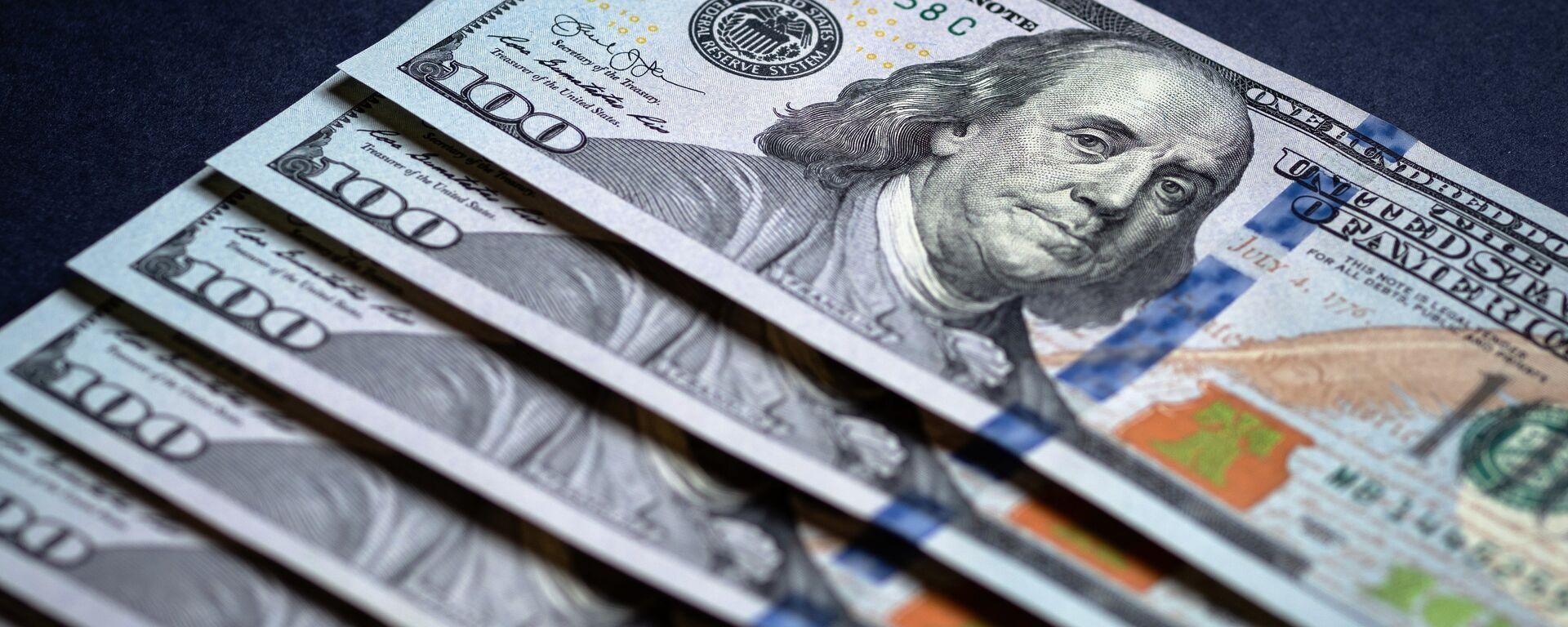 Dólares estadounidenses - Sputnik Mundo, 1920, 25.05.2021