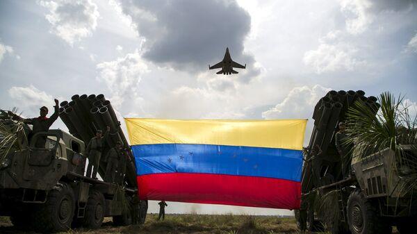 Militares de la Fuerza Armada Nacional Bolivariana de Venezuela - Sputnik Mundo