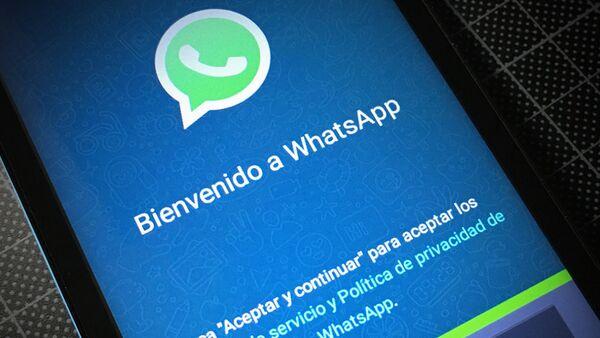 La aplicación de WhatsApp - Sputnik Mundo