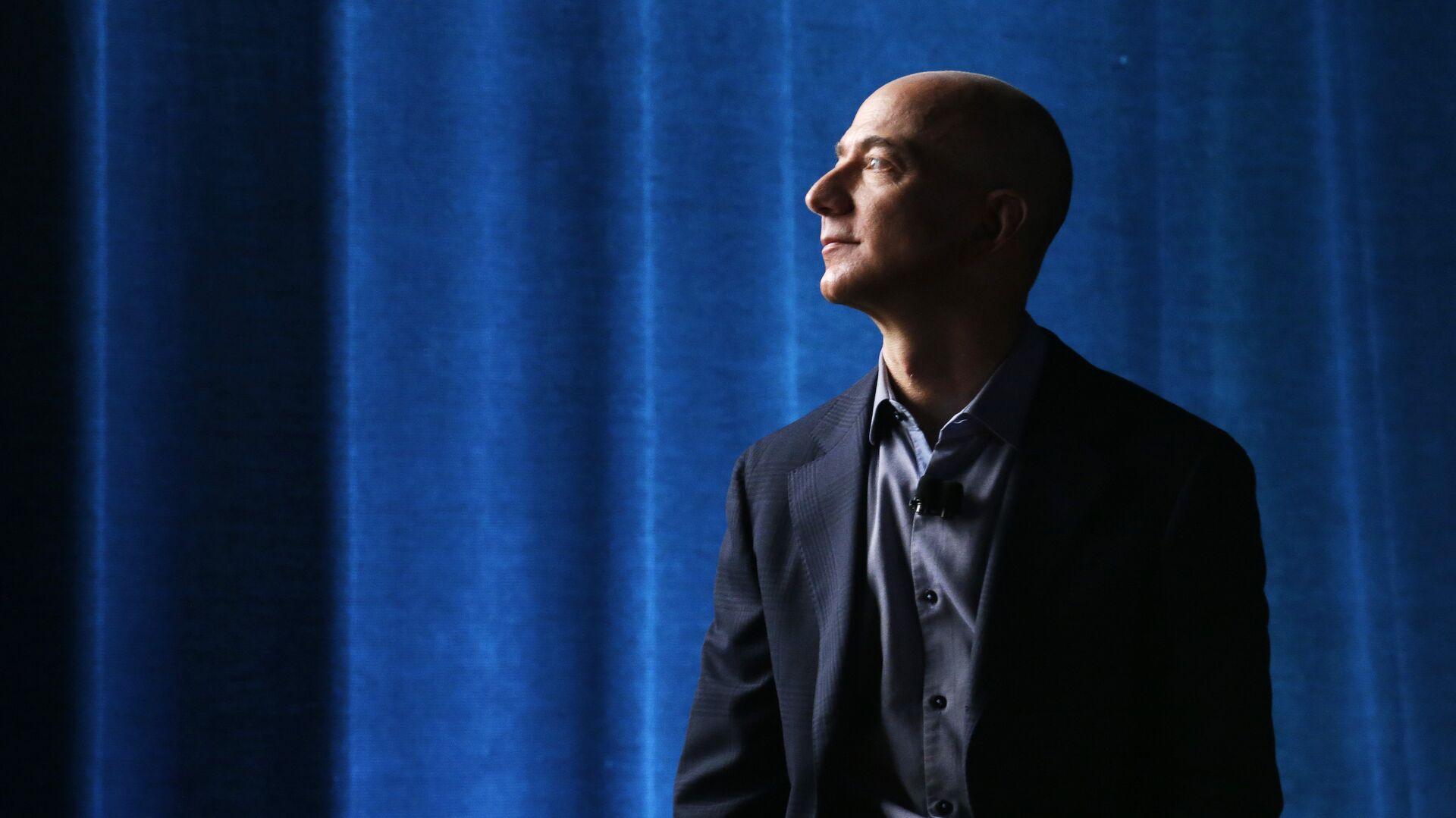 Jeff Bezos, propietario de Amazon  - Sputnik Mundo, 1920, 02.02.2021