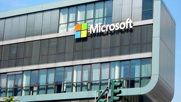 Edificio de Microsoft, foto archivo - Sputnik Mundo