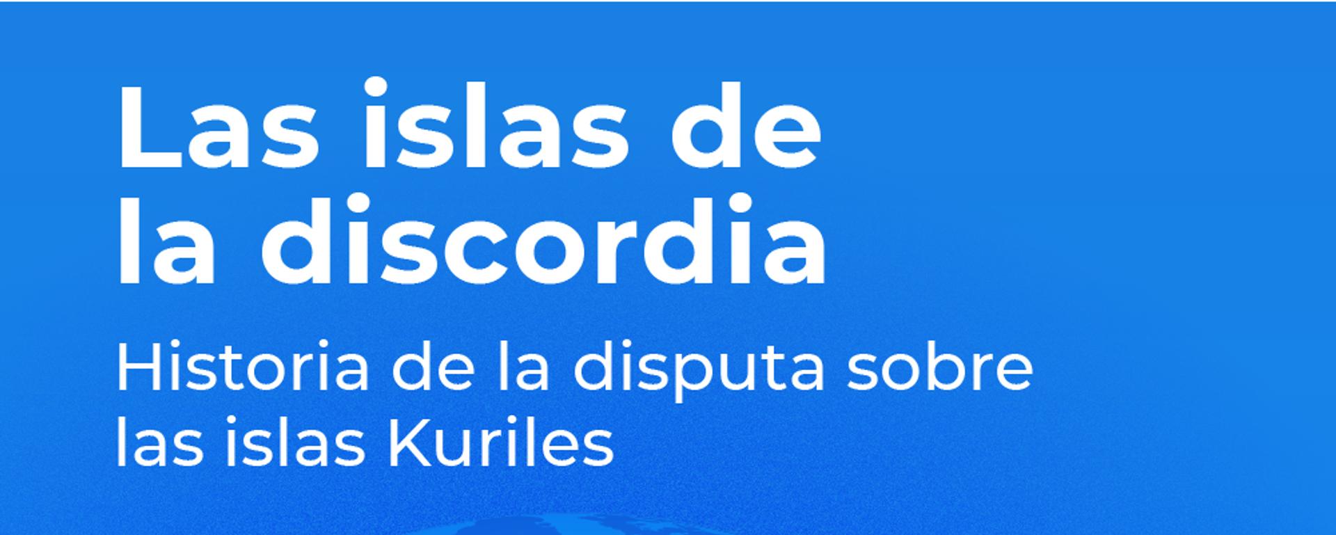 Las islas de la discordia - Sputnik Mundo, 1920, 15.02.2019
