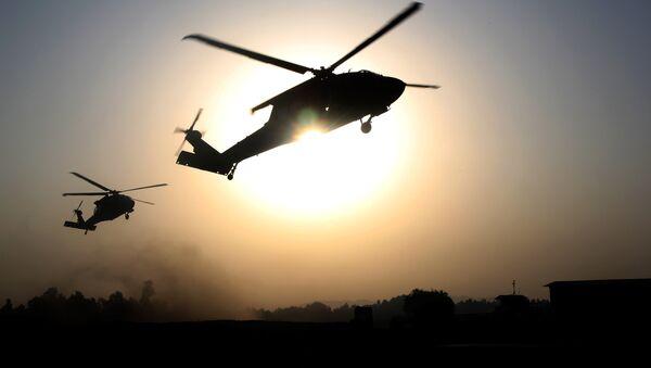 US helicopters. (File) - Sputnik Mundo