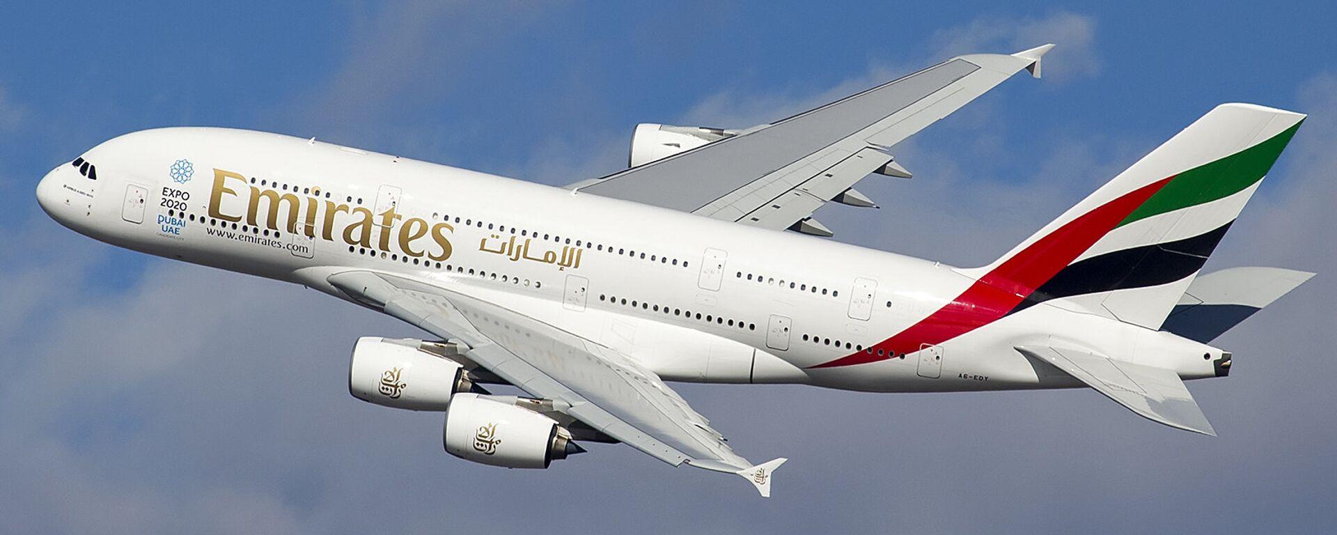 Un Airbus A380 - Sputnik Mundo, 1920, 20.02.2019