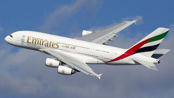Un Airbus A380 - Sputnik Mundo