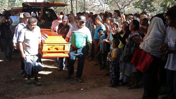 Funerales de Samir Flores Soberanes - Sputnik Mundo