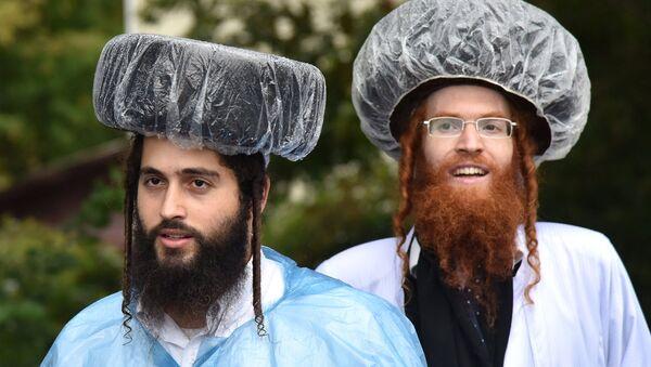 Judíos jasídicos (imagen referencial) - Sputnik Mundo