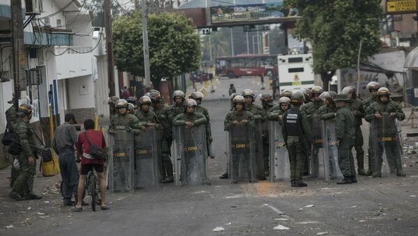 Situación en la frontera entre Venezuela y Colombia (archivo) - Sputnik Mundo