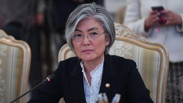 Kang Kyung-wha, ministra de Exteriores de Corea del Sur (archivo) - Sputnik Mundo