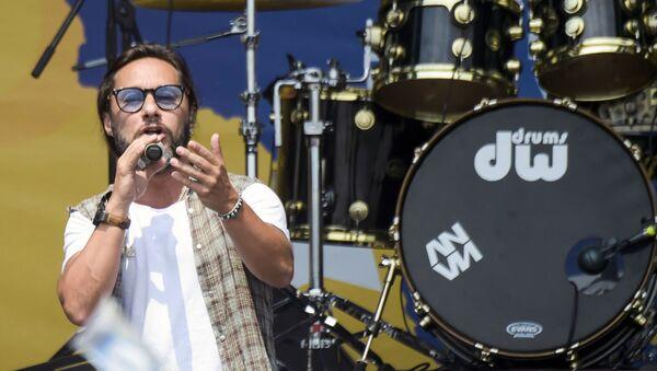 Diego Torres en el Venezuela Live Aid - Sputnik Mundo
