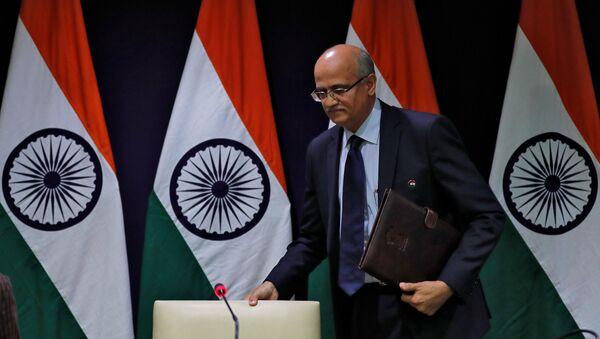 Vijay Keshav Gokhale, secretario de Exteriores de la India - Sputnik Mundo