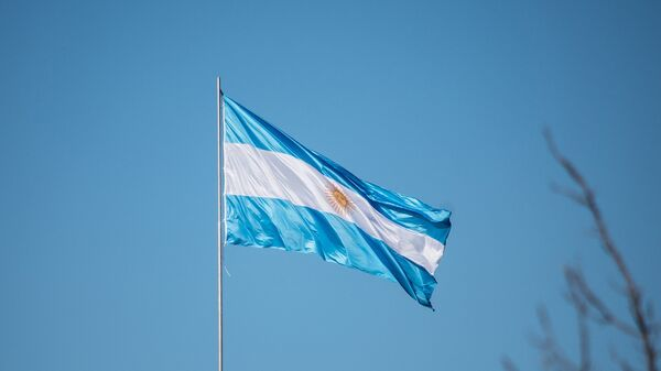 La bandera de Argentina - Sputnik Mundo