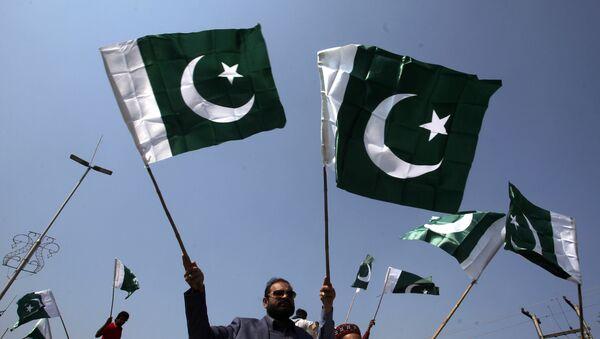 Las banderas de Pakistán - Sputnik Mundo