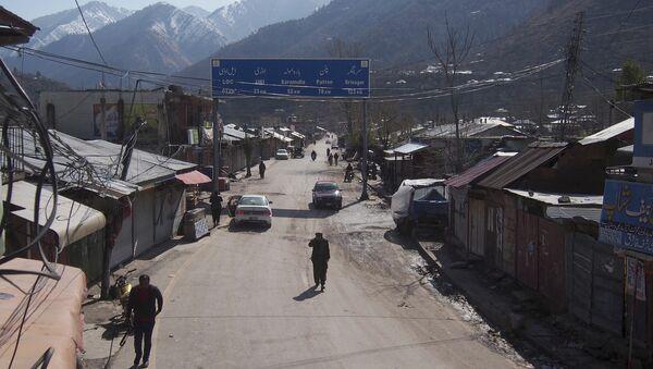 Linea de Control en Cachemira, en la frontera entre la India y Pakistán - Sputnik Mundo