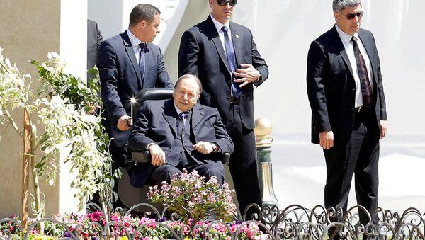 Abdelaziz Bouteflika, presidente de Argelia (archivo) - Sputnik Mundo