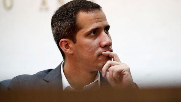 Juan Guaidó, líder opositor vnezolano - Sputnik Mundo