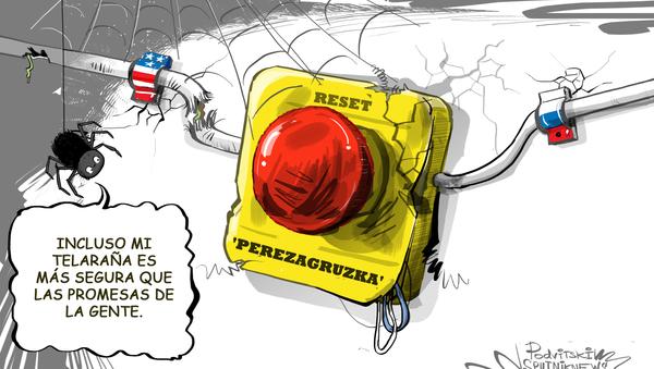 El 'reinicio' de las relaciones entre Rusia y EEUU: solo una promesa falsa - Sputnik Mundo