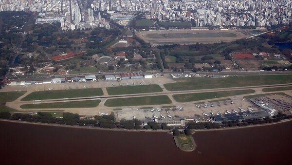 Aeropuerto metropolitano Jorge Newbery (archivo) - Sputnik Mundo